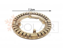 COOKER BRASS BURNER RING, MEDIUM (FAMILY CODES- S2519, S2522, 2836, 2826, 2834). FRANKE Malta,     							Cooker Malta, Polar Services LTD Malta Malta
