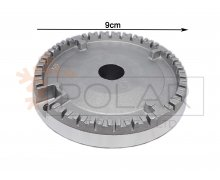 COOKER ALUMINIUM BURNER, BIG. (FAMILY CODES- S4725, S4726, S4727, B3616, B3617, B3618). ARISTON/ SMEG Malta,     							Cooker Malta, Polar Services LTD Malta Malta