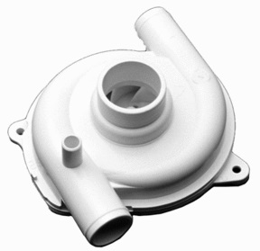DISHWASHER PUMP IMPELLER, 2 PIPES, FOR162 CM 02,  SMEG  690070483 Malta, 								Dishwasher Malta, Polar Services LTD Malta Malta