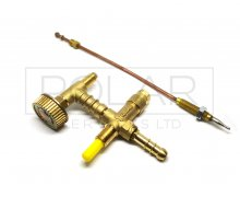 BBQ SPLIT TAP WITH SAFETY VALVE & THERMOCOUPLE Malta,     							Single Gas Burner Malta, Polar Services LTD Malta Malta
